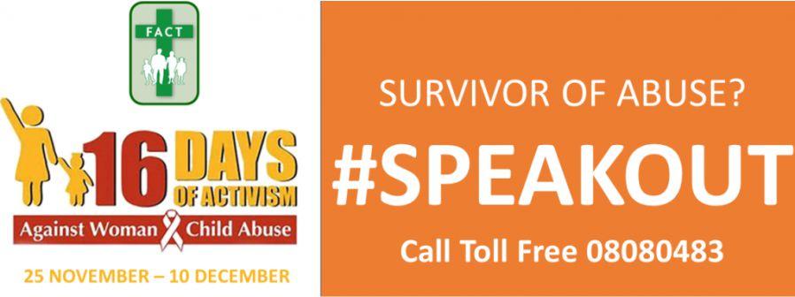 16 Days of Activism against Gender-Based Violence