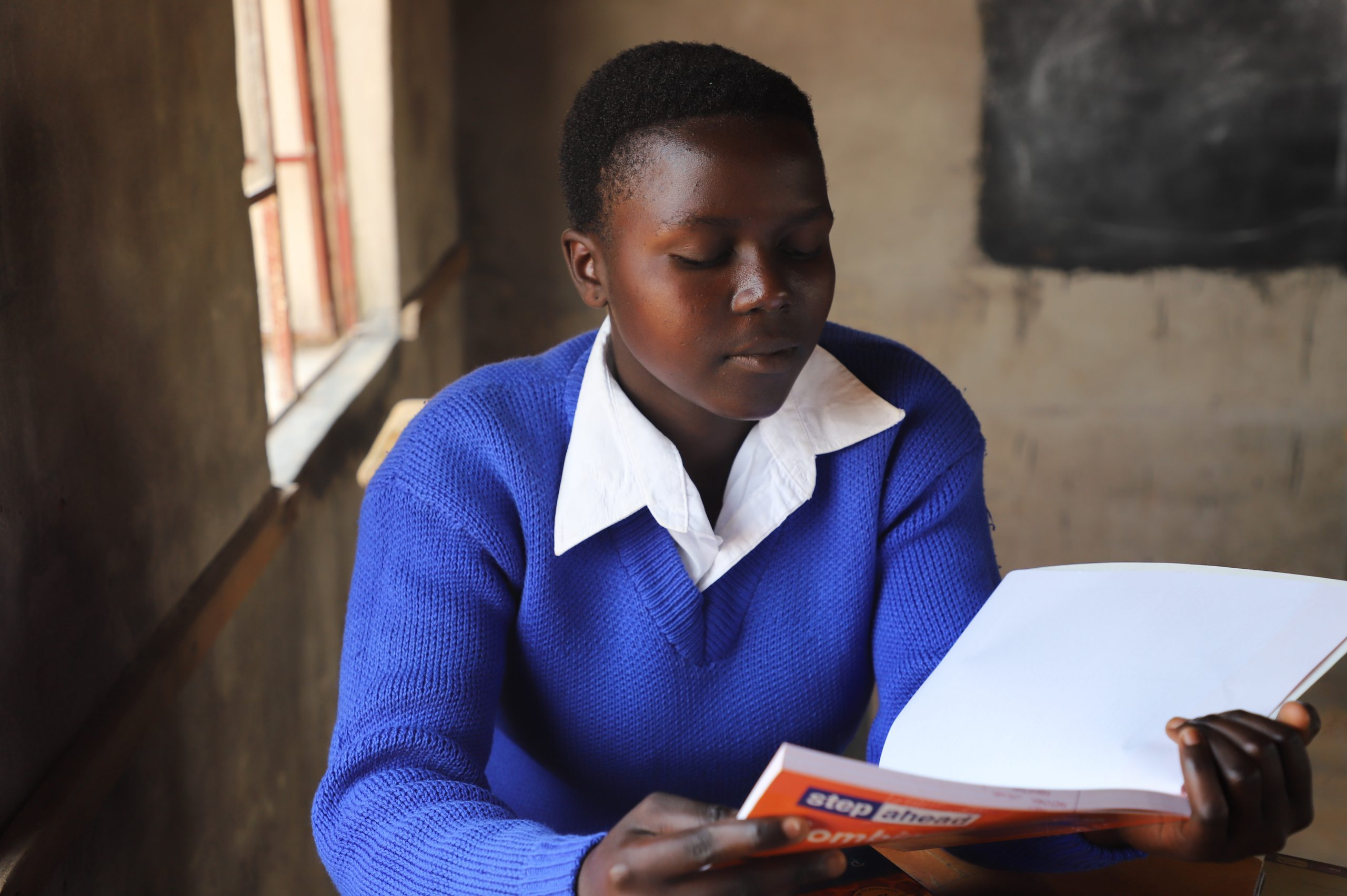 """""""After Completing my studies, I want to be a doctor,""""- Junior."""
