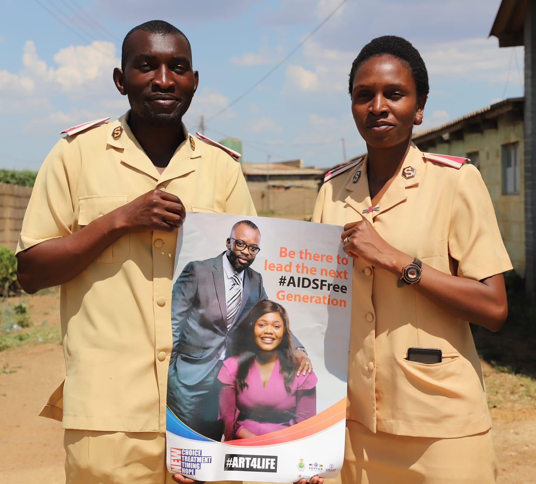 Faith Leaders shaping an #AIDSFreeGeneration.